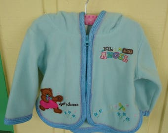 6 Mo Old Girls zip up hooded jacket
