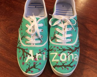 Arizona Tea Hand Painted Shoes!