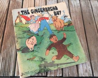 Vintage Book Titled The Gingerbread Man