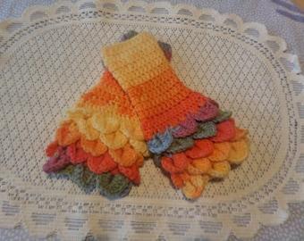Children's gloves, fingerless gloves, wristwarmer gloves, 6 to 12 years, colour choice,
