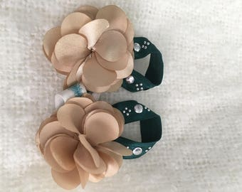 Baby boutique barefoot sandals