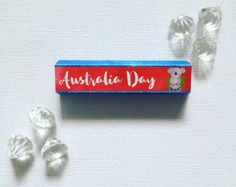 Australia Day kinder cover