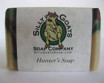 Hunters Soap, Goat Milk Hunters Soap, Deodorizing Soap