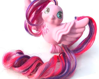 "Vintage My Little Pony Fairy Tails Bird ""Tasty Tail"" Candy Cane Hasbro"