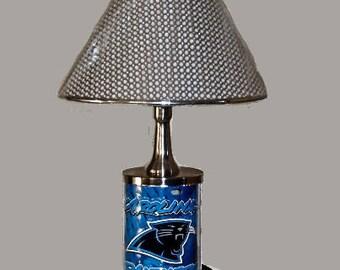 Carolina Panthers Electric Lamp
