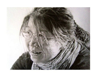 A3 Custom graphite drawing - made to order