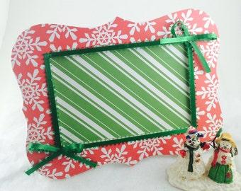 Christmas picture frame- custom christmas frame-photo frame- custom picture frame-picture frame-christmas decor