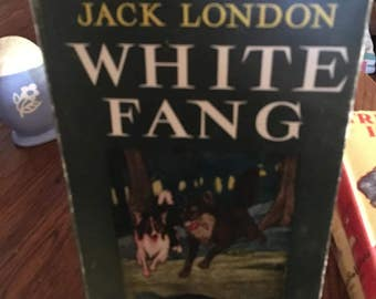 25% OFF!  Vintage Young People's Book - WHITE FANG