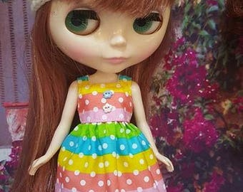 110 # Neo Colour Dotty Dress
