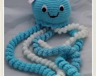 Crocheted JellyFish - Nursery decoration