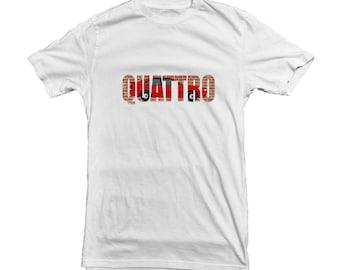 Audi Quattro T-shirt for Audi Fans - best gift for Boyfriend, Husband, Dad - Quality T-shirt Print MUF-12140