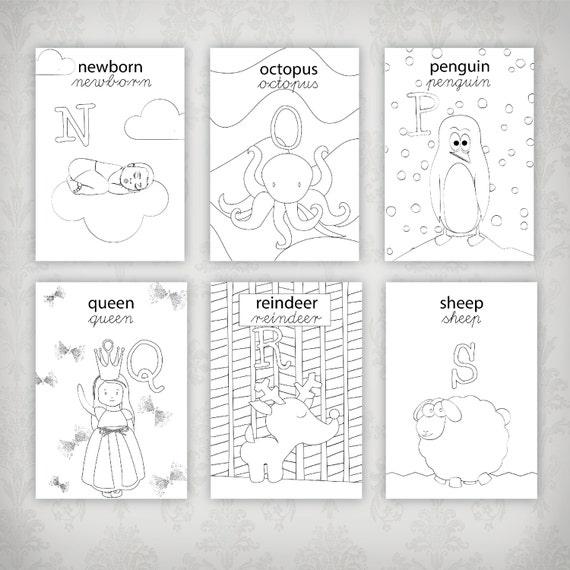 Exceptionnel alfabeto per bambini alfabeto scolastico alfabeto OD29