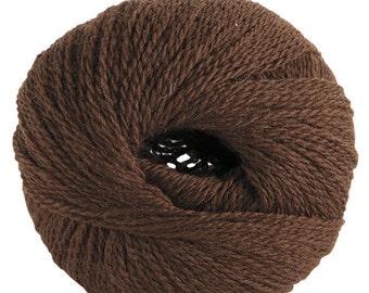 KNIT PICKS Palette Yarn, Fingerling, 50g, 231 Yds, Color - Bark