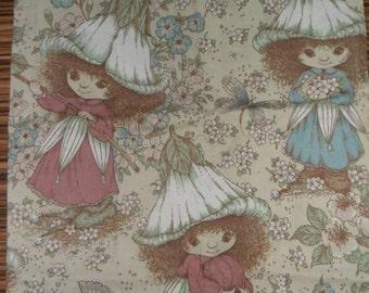 Rare original Victoria Plum Upholestry Fabric