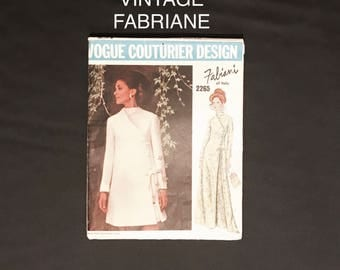 Fabriane Vintage Vogue sewing pattern