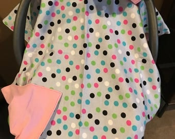 Infant seat canopy