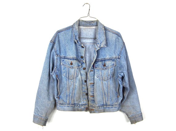The Ultimate Grunge Jean Jacket