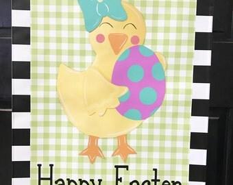 Blank Bunny Garden Flag Easter Flag Easter Decoration