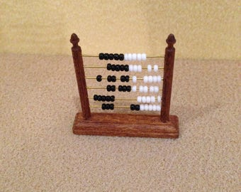 Dolls House 1/12th scale Abacus Nursery toy.
