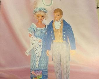 Annies Crochet Jane Austen designs fashion doll patterns