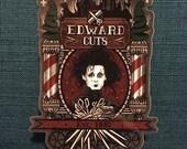 Edward Cuts- Sticker