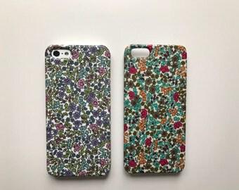 Liberty fabric iPhone & Samsung Galaxy case - Emilia's Flower