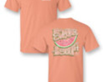 Sweeter in the South - Adult T-Shirt - Sassy Frass