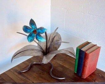 Copper Tropical Flower