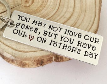 Gifts for Stepdads, StepDad Gift, Fathers Day, For Step Dad, Personalised Step Dad Gift, Step Dad Keychain, Gifts for Fathers Day, Step Dad,