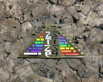 STS9 Pyramid Pin(GOLD)
