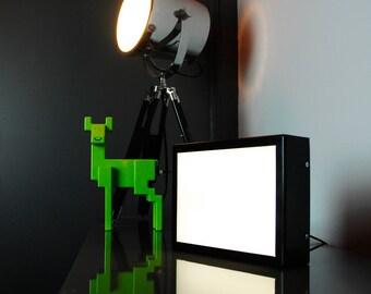 205 x 155mm (A5) Blank LED Lightbox - Illuminated Light Up Light Box - UK Made