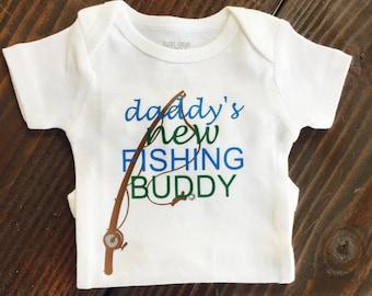 Daddy's Fishing Buddy | Custom | Baby Shower | Custom Gift