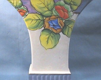 Vintage Ceramic Painted Vase
