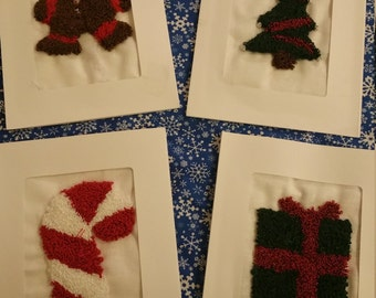 Embroidered Holiday Notecards
