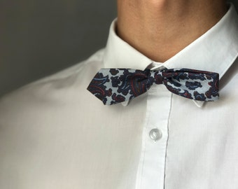 Thin bowtie for men