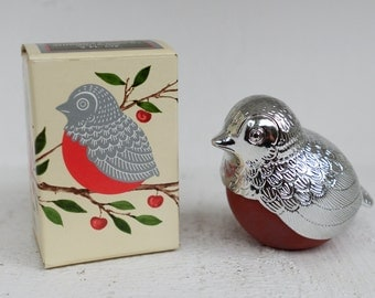 NEVER USED - Vintage AVON Robin Red Breast