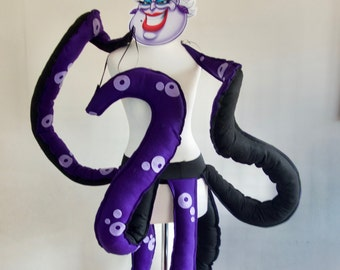 Children's Ursula Seawitch inspired Costume Belt, Villain Party, Age 3 up to 15 Yrs