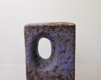 Fat Lava block vase/chimney vase