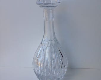 Vintage Crystal decanter with stopper