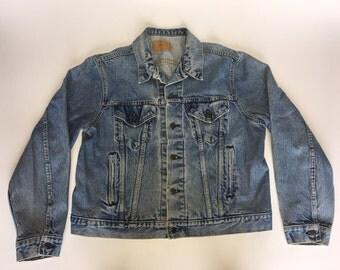 Vintage Levi's jean jacket size 48