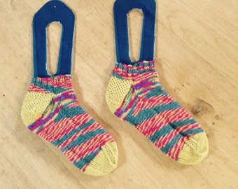 Hand Knit Trainer Socks