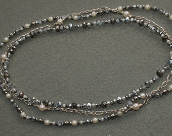Triple Strand Cosmopolitan Necklace