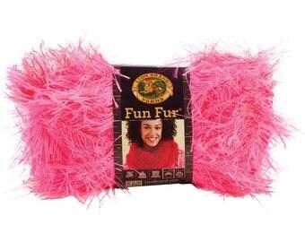 Fluffy Pink Rug