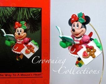 Enesco The Way to a Mouse's Heart Disney Ornament Minnie Mouse Baker Treasury of Christmas Mickey & Co Vintage Collection