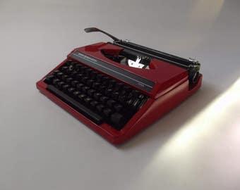 Sperry Remington - Idool red typewriter