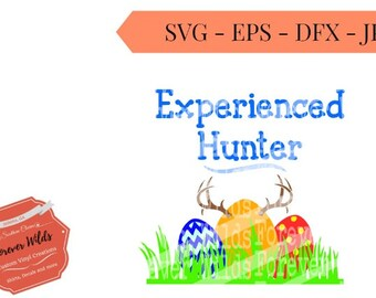 Boys Easter SVG - Deer egg hunt File - egg hunt svg- svg, eps, dfx - Easter Egg Hunt - Happy Easter SVG - Egg Hunter svg