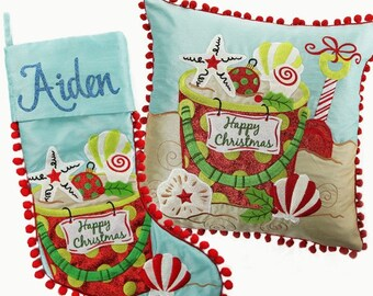 Beach Stocking and Cushion Pack