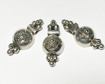 Bali Sterling Silver Pendant Charm-1 Pc