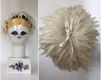 1950s Wedding Fascinator Hat - Vintage