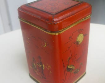 Org. 50 he j. small Tea Caddy